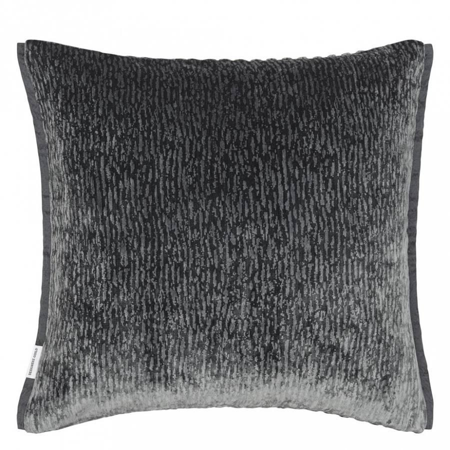 Designers guild - Portland  Graphite Cushion 43 x 43