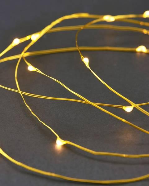 House Doctor - String lights - 10m - Brass